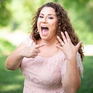 Amanda Marketing Coordinator Just Engaged