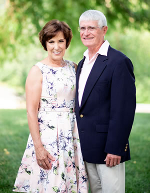 Diane and Harold Burroughs Flora Corner Wedding